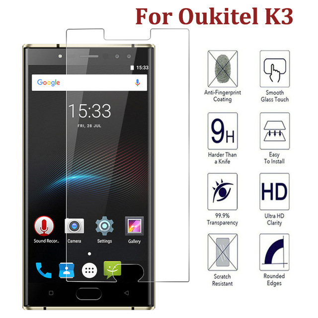 BAKEEY Ultra Thin Anti-Explosion Tempered Glass Screen Protector For Oukitel K3