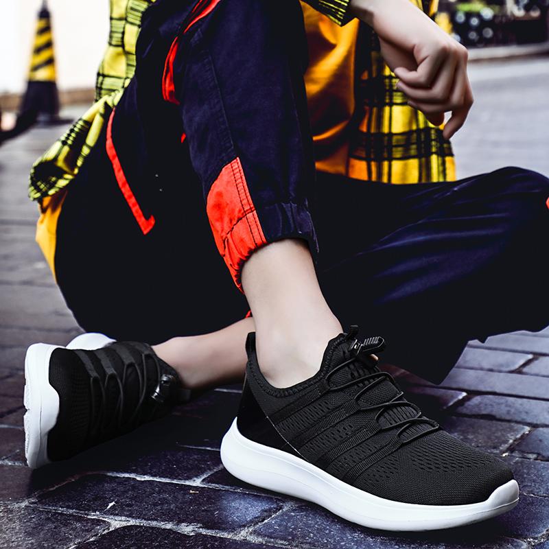Men Breathable Mesh Lightweight Running Sneakers