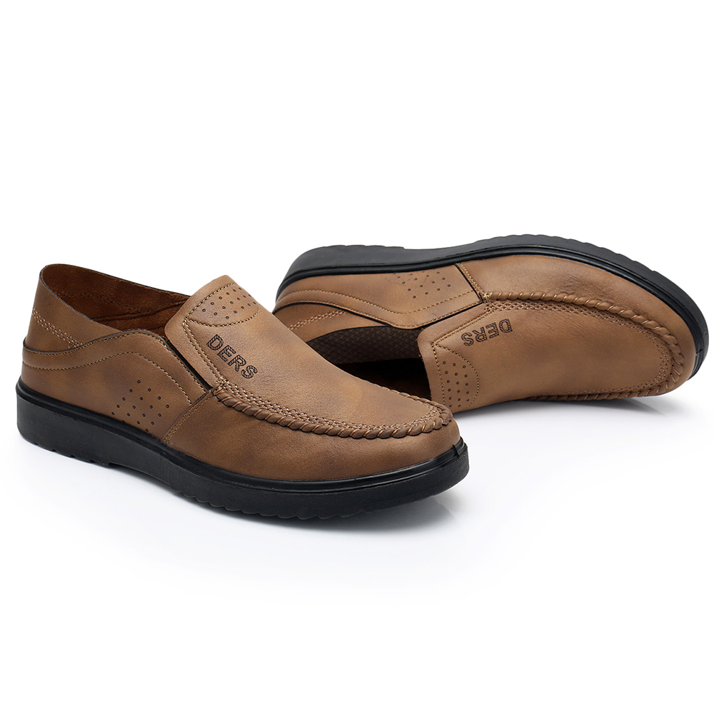 Microfiber Business Comfy Soft Sole Casual Oxfords