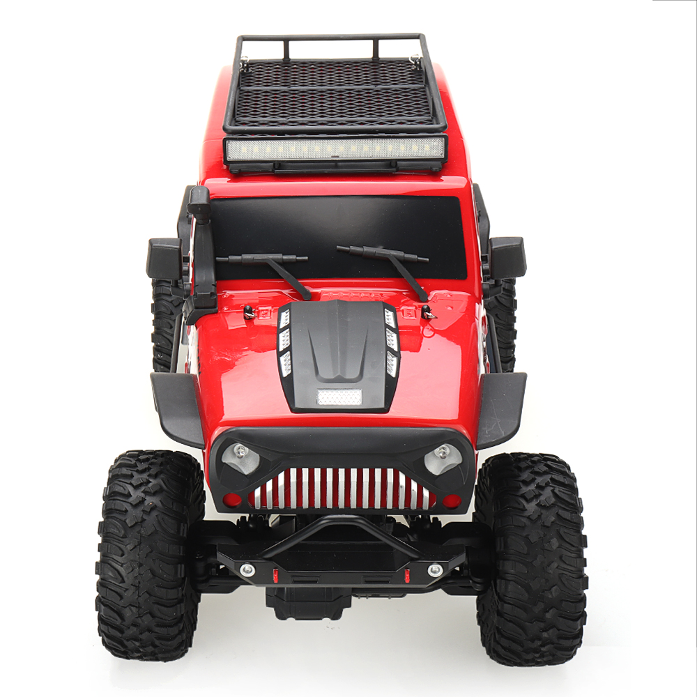 Wltoys 104311 1/10 2.4G 4X4 Crawler RC Car Desert Mountain Rock Vehicle Models With Two Motors LED Head Light Two Battery - Photo: 10