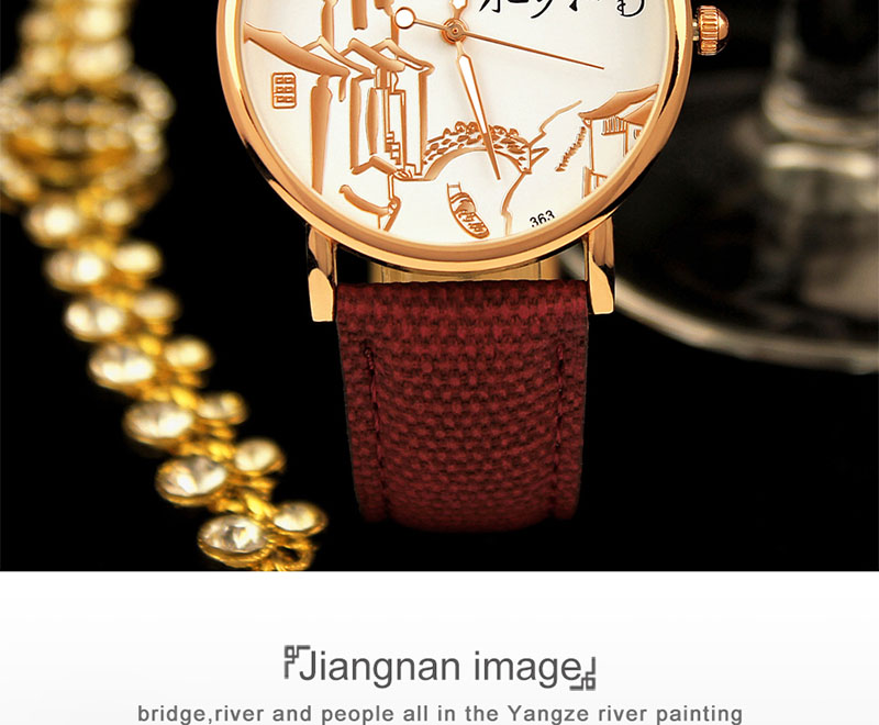 YAZOLE 363 Chinese Style Retro Luminous Hand Women Watch