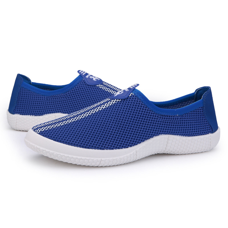 Men Casual Outdoor Mesh Breathable Slip on Sneakers Shoes