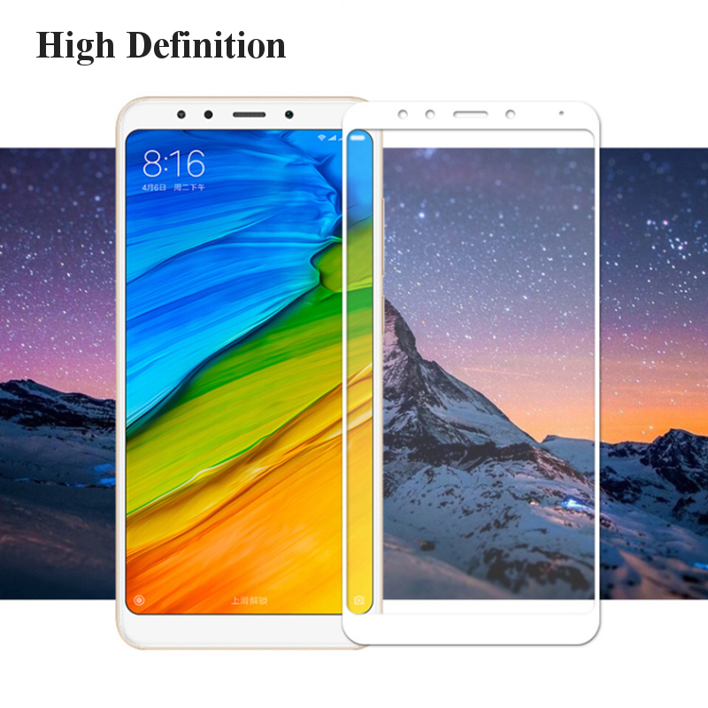 Bakeey Anti-Explosion Full Cover Screen Tempered Glass Phone Screen Protector For Xiaomi Redmi 5P