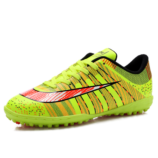 Men Soccer Football Training Shoes Athletic Cleats Outdoor Sport Sneaker