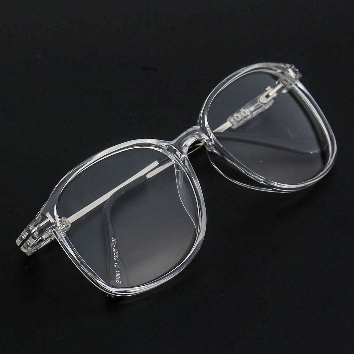 Women Transparent Eyeglasses Men Frame Full Rim Spectacles Clear Lens Glasses Eyewear