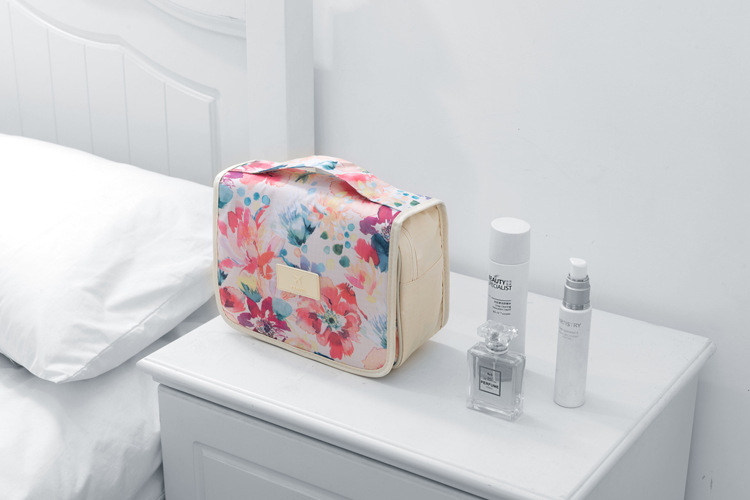 Honana BX-996 Waterproof Bathroom Travel Storage Makeup Cosmetic Bag Organizer Cube Pouch Wash Bag