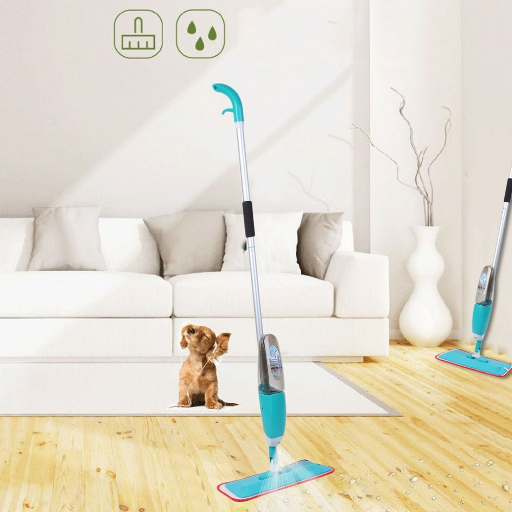 Magic Spray Mop Microfiber Cloth Floor Windows Clean Mop Home kitchen Bathroom Dedicated Cleaning Tools