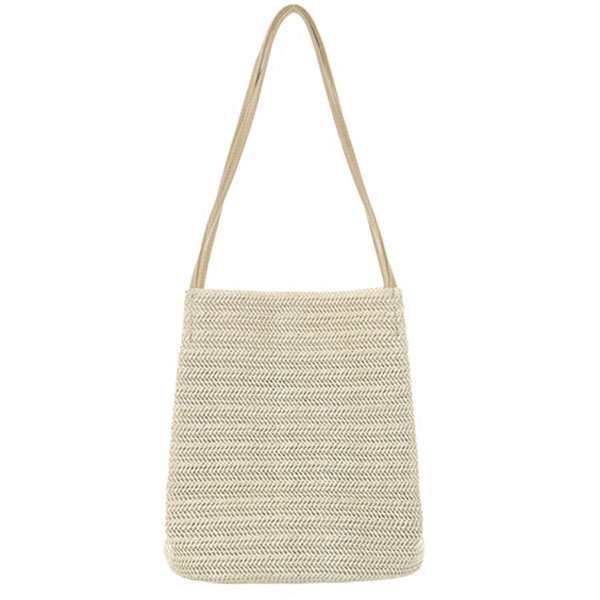 Women Woven Shoulder Bag Handbag Beach Bag