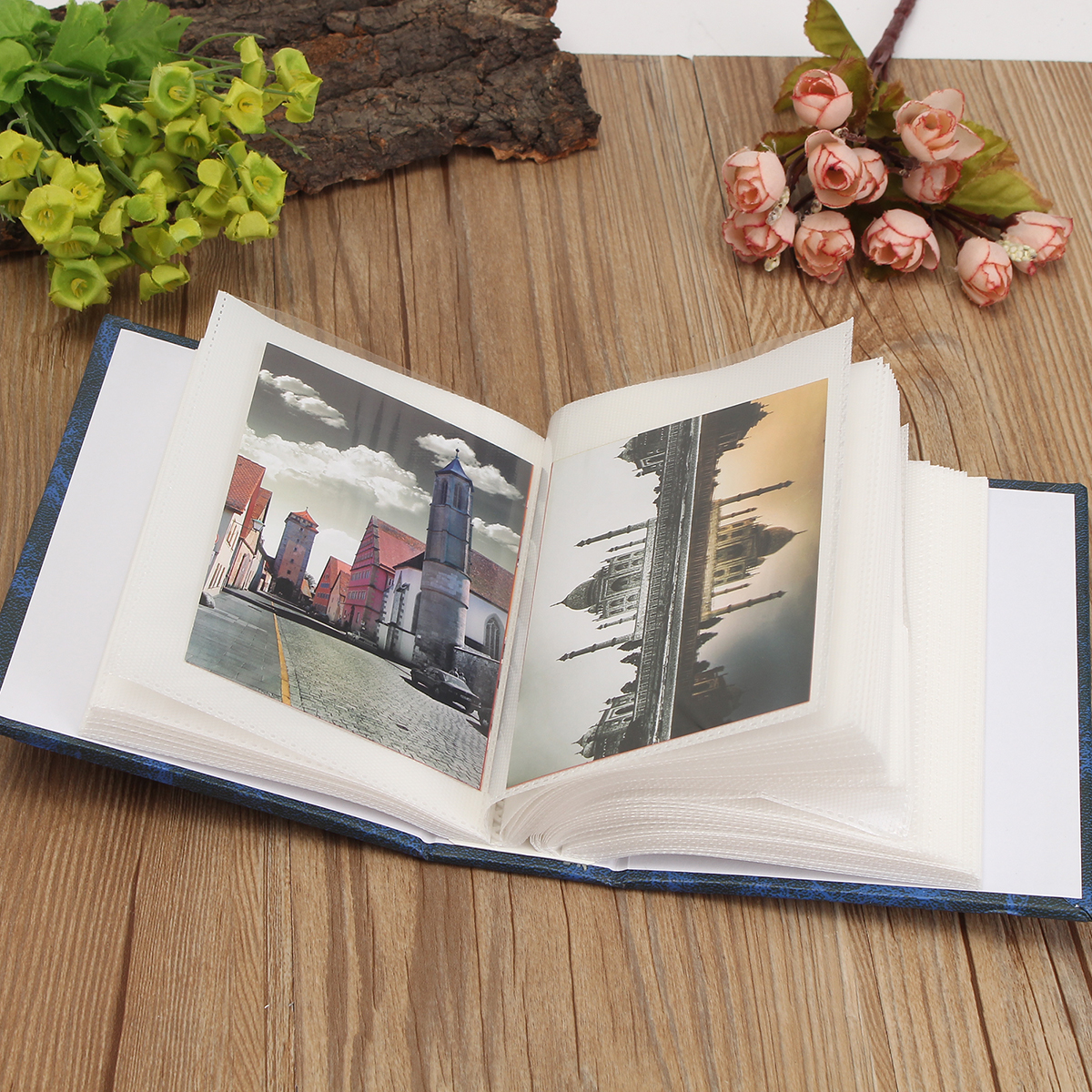 100Pcs Memory Pictures Storage Wedding Photo Scrapbook Gifts Household Design Photo Album
