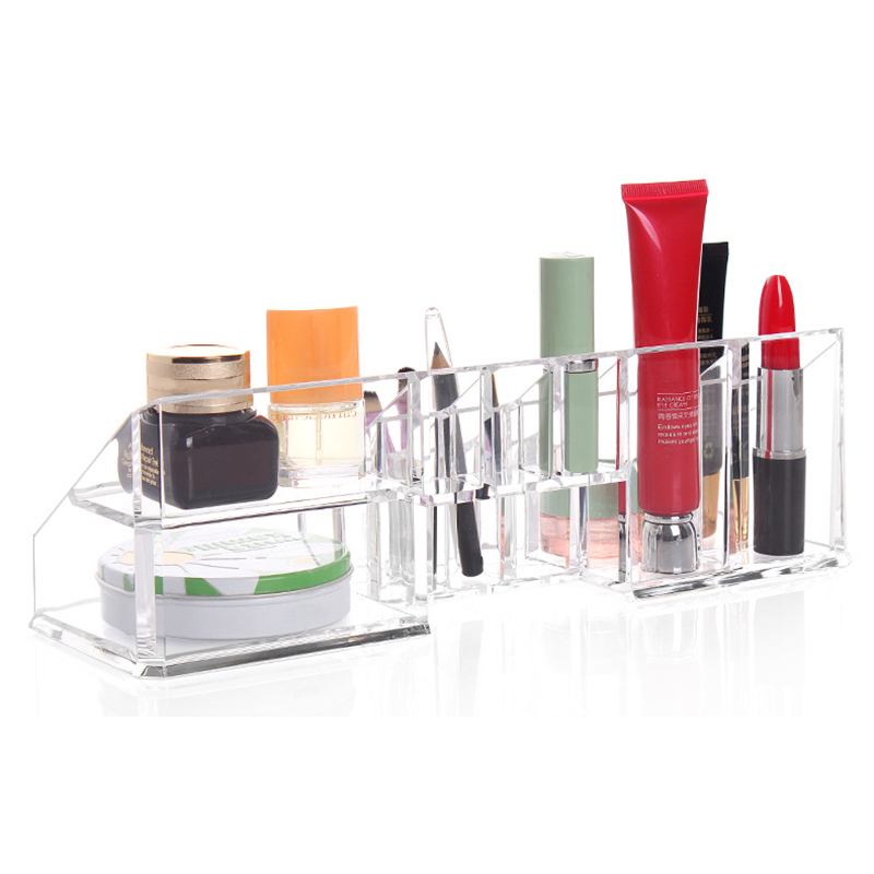 Acrylic Clear Make Up Nail Polish Organizer Cosmetic Display