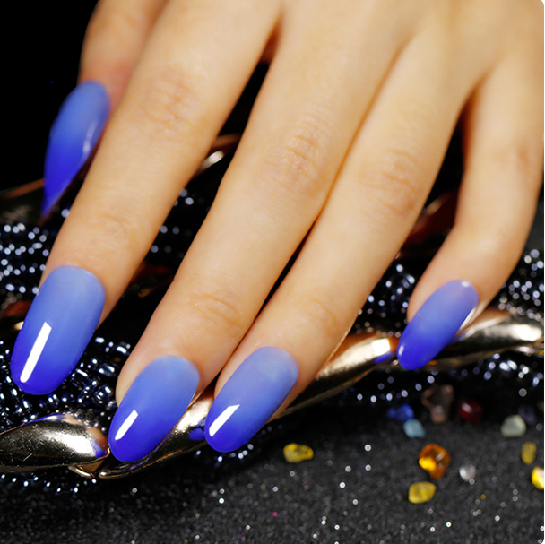 4 Colors Magical Temperature Changing Soak Off UV Gel Polish Long Lasting