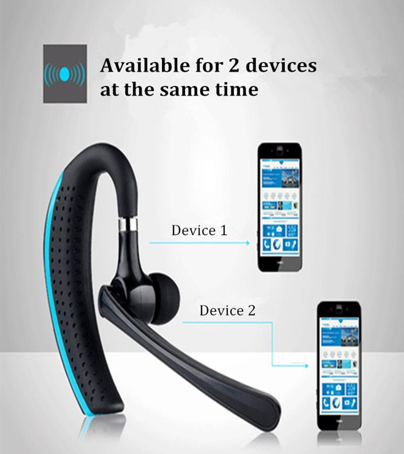 Bakeey™ Business Light Weight Hands Free Wireless bluetooth 4.1 Headset Earphone for Iphone Samsung Xiaomi