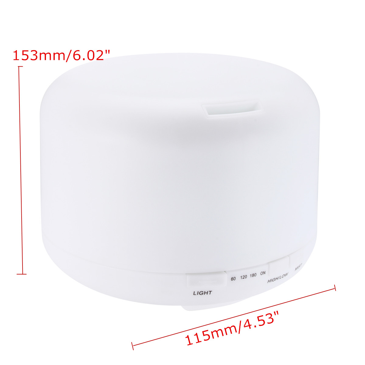 500ml Ultrasonic Aromatherapy Humidifier