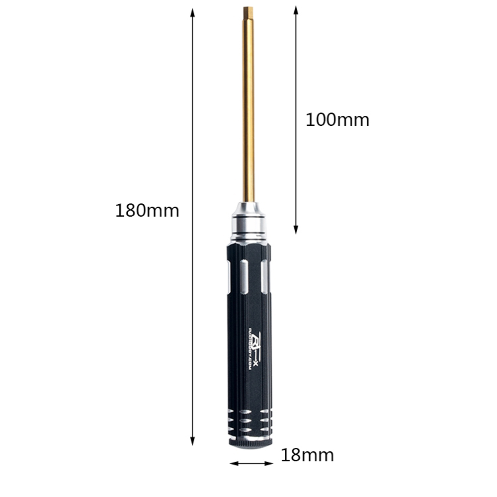 RJX 4mm Hex Screwdriver Repairing Tool For RC Car Boat Airplane - Photo: 5