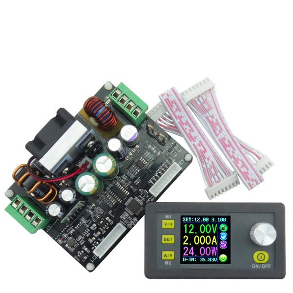 RIDEN® DPH3205 160W Buck Boost Converter Constant Voltage Current Programmable Digital Control Power Supply Module Color LCD Voltmeter