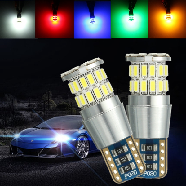 T10 Car Side Indicator W5W 3014 38 SMD LED License Plate Light For Vehicle