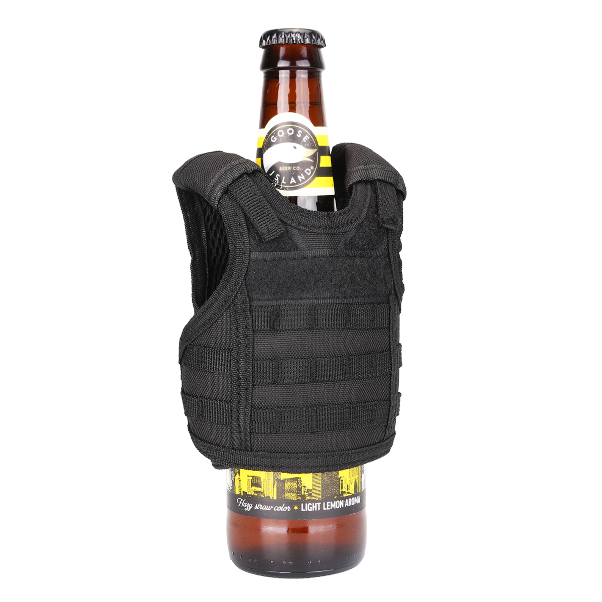 Adjustable Beer Bottle Vest Beverage Insulator Mini Cooler Tactical Cup Holder