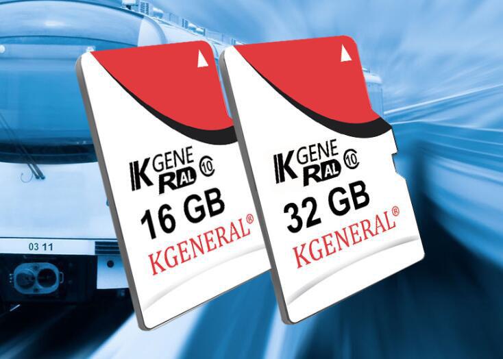Kgeneral C10 128G High Speed Memory Card For DVR Camera Support 4K Video