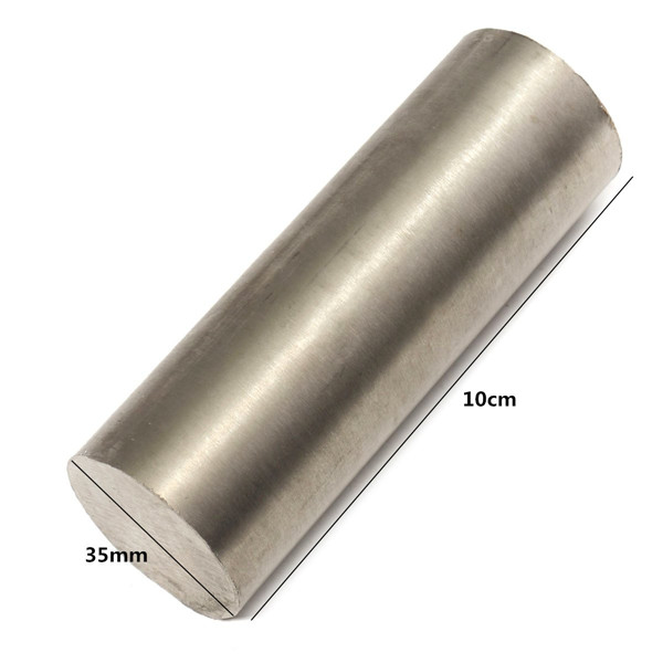 35mm Titanium Ti Grade GR5 Titanium Alloy Rod Bar Length 10cm