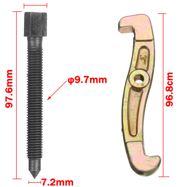 3 Inch 75mm 3 Jaw Bearing Puller Gear Pulley Remover Pulling Extractor Tool