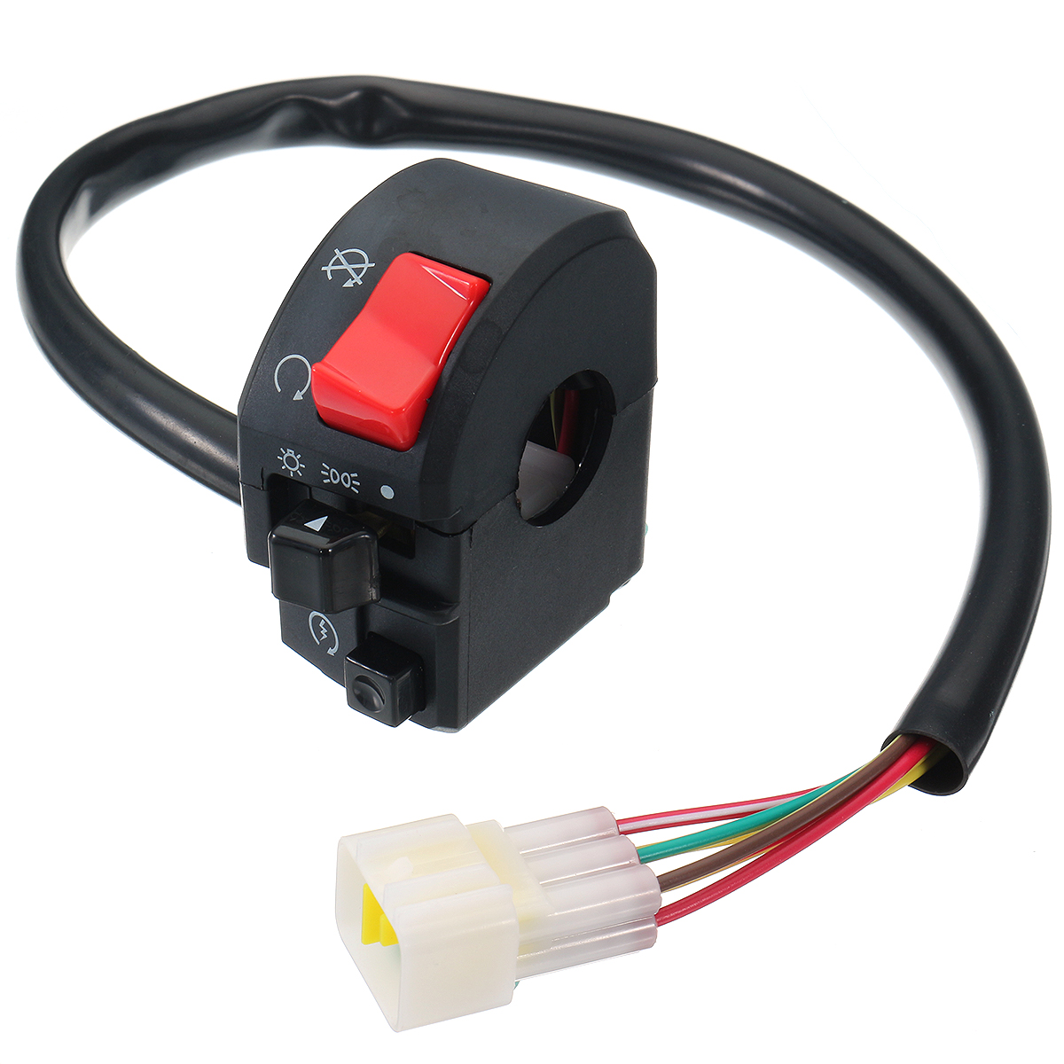 12V 7/8inch Motorcycle Handlebar Switch Turn Signal Lig