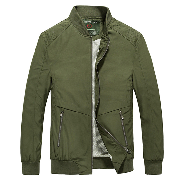 Men Fashion Casual Sports Breathable Cozy Sring Fall Jacket Coat
