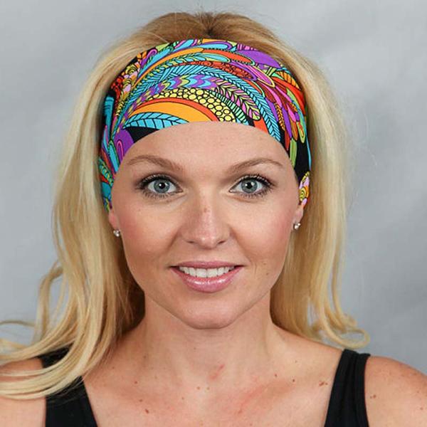 Bohemia Yoga Elastic Seamless Headband