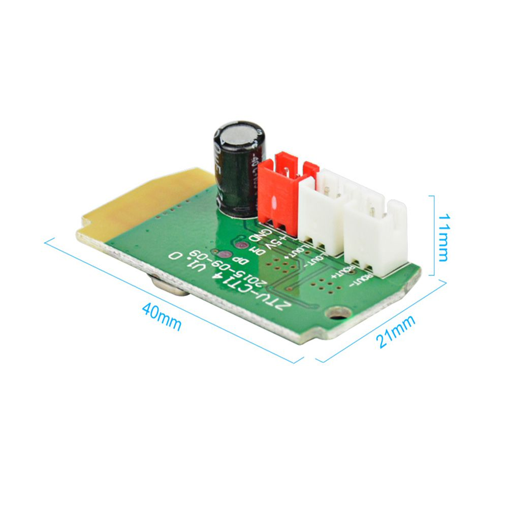 5pcs 3Wx2 Mini bluetooth Receiver Module With 4Ohm Speakers Power Amplifier Audio Board Decoding MP3 Module