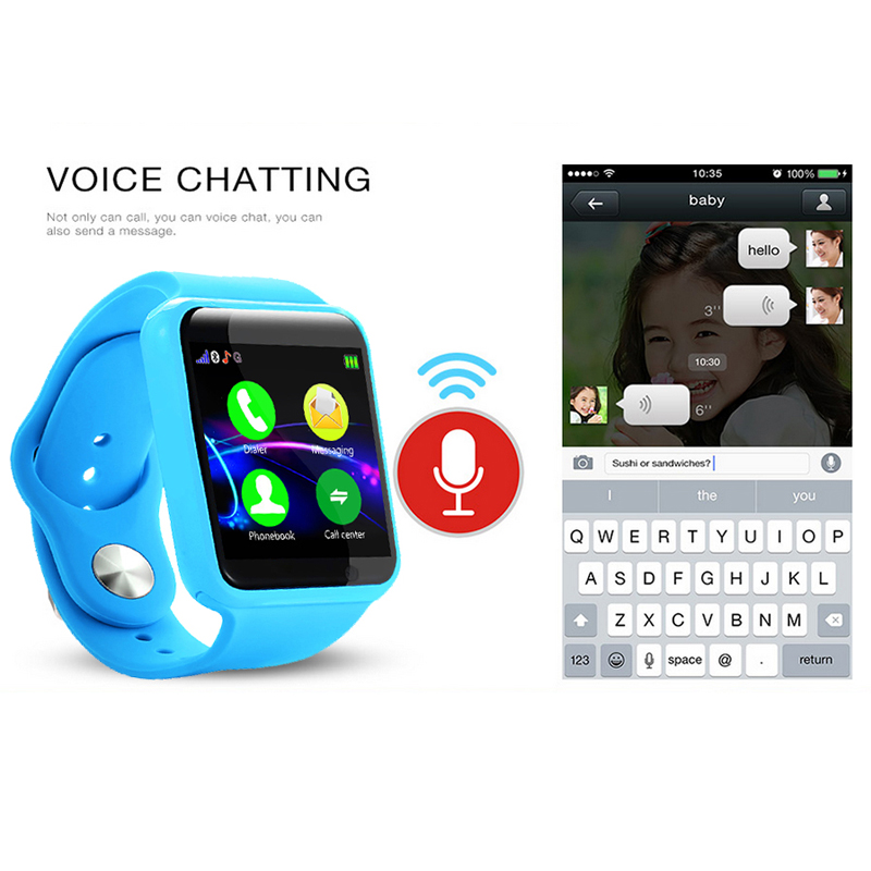 Bakeey U10 Bluetooth HD Camera 32GB TF Sim Card Call Sleep Monitor Kids Smart Watch Tracker