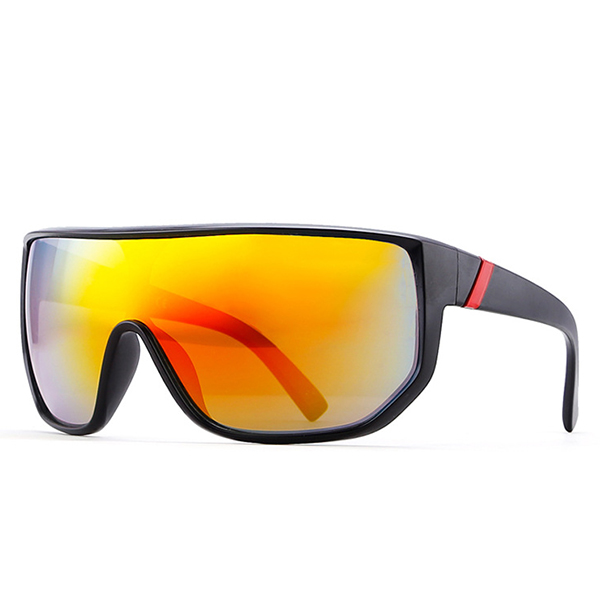 Mens Protection Black Frame Shades Sunglasses