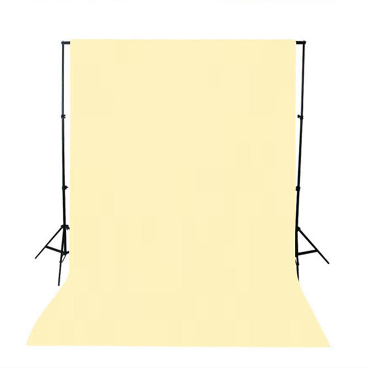1.5x3M Green Black White Blue Yellow Pink Grey Solid Color Photography Backdrop Background Studio Prop