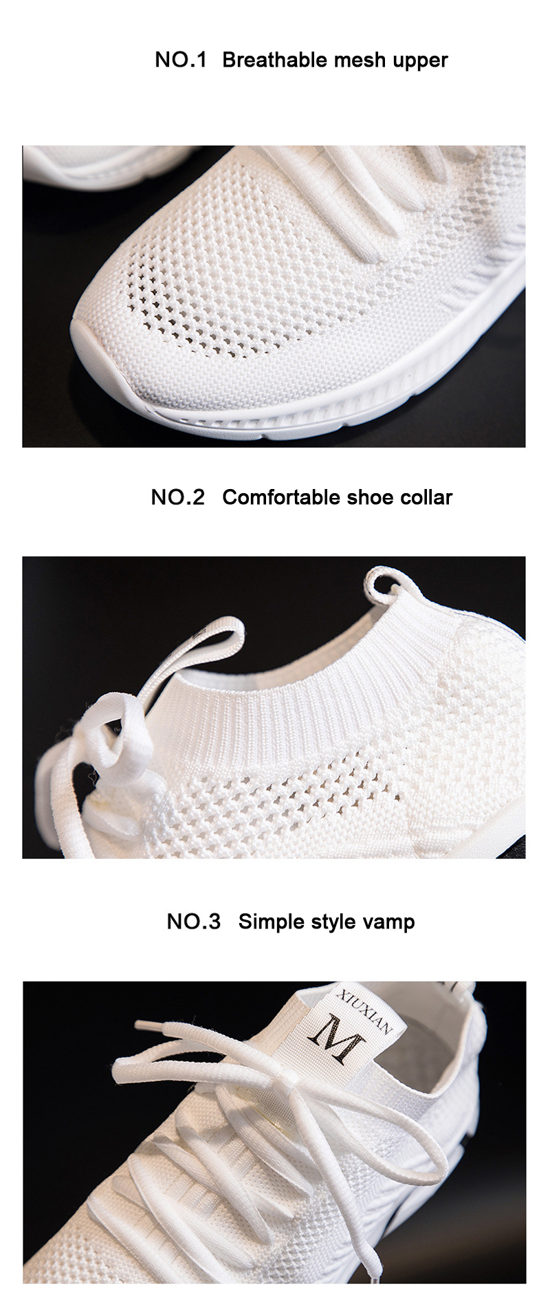 TW-2099 Summer Women Leisure Running Sports Shoes Breathable Mesh Surface Sneakers