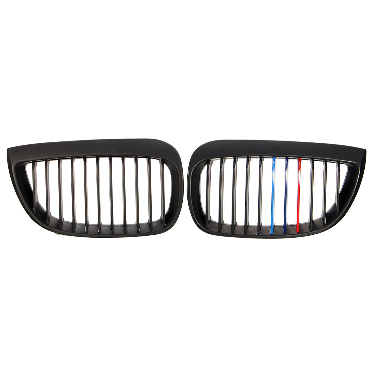 Left And Right Front Sport Kidney Grill Grille For BMW E81 E87 1 Series
