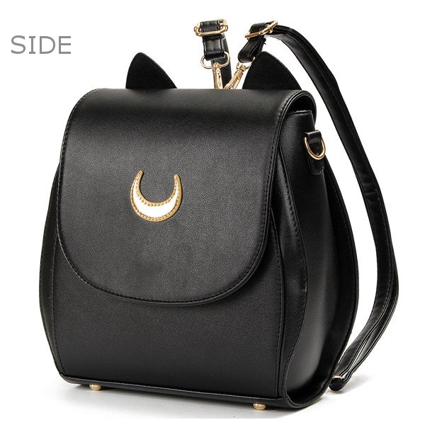 Women Cat Sailor Moon Luna Backpack