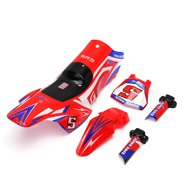 SKYRC SR5 Body Shell SetsShock Protection Cover+Head Co