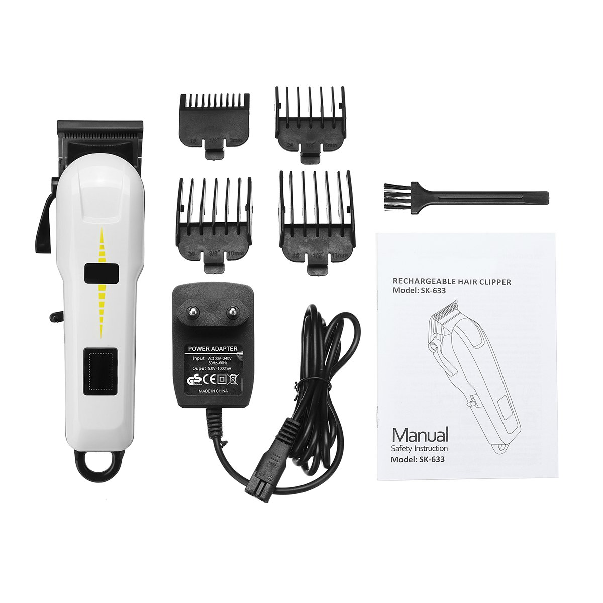 3W Cordless Electric Shaver Hair Clipper Trimmer