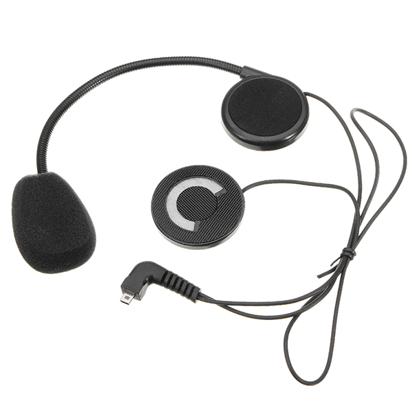 Intercom Headset with Microphone For T-COM Motorcycle Helmet Intercom Interphone