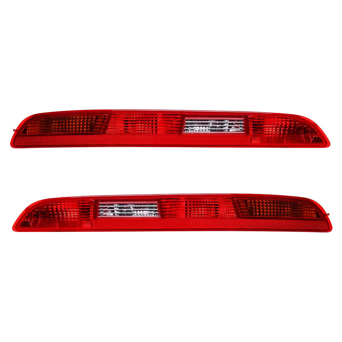 Rear Left/ Right Car Side Lower Bumper Tail Light Lamp Red for AUDI Q3 2011-2014