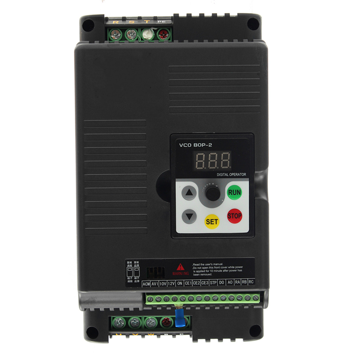 4.0KW 220V Variable Frequency Inverter Single To 3 Phase Output Motor Speed Drive