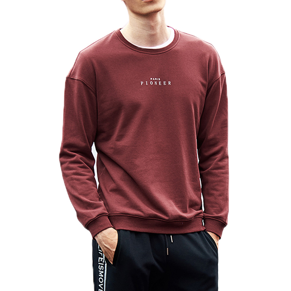 Alphabet Printing Sports Leisure Sweater Tops