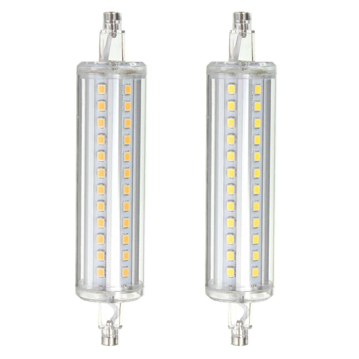 Dimmable R7S 8W 118MM 72 SMD 2835 LED Pure White Warm White Corn Light Lamp Bulb AC85-265V