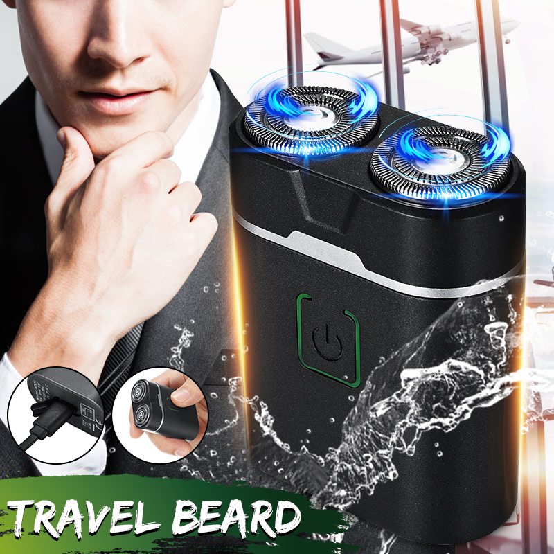Kemei Mini Waterproof Electric Shaver