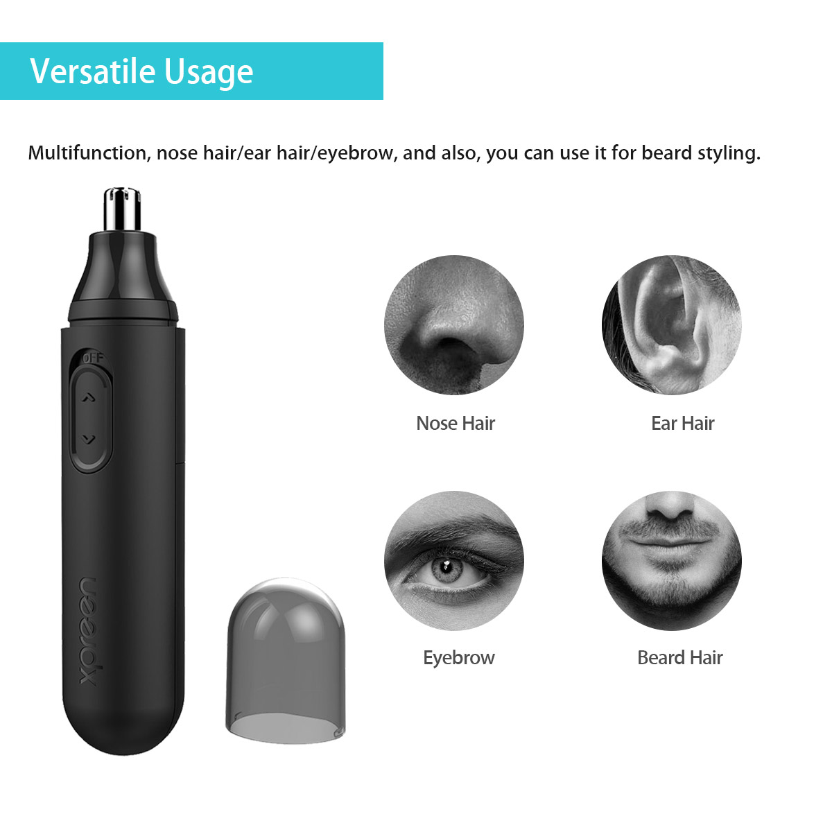 KCASA Xpreen Multi-function Electric Nose Hair Trimmer