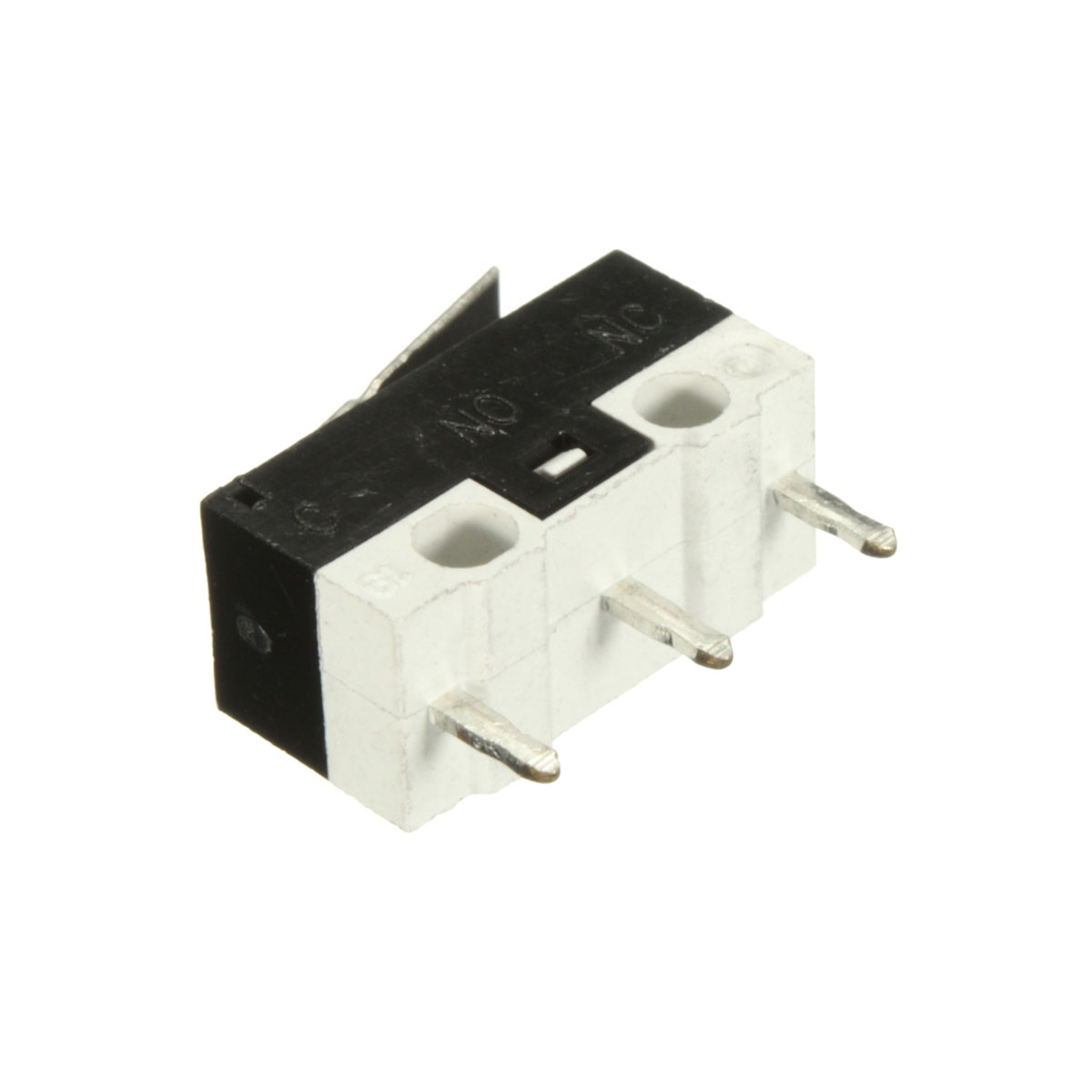 1A 250VAC 2A 30VDC SPDT 1NO 1NC Mini Micro Switch Short Straight Hinge Lever