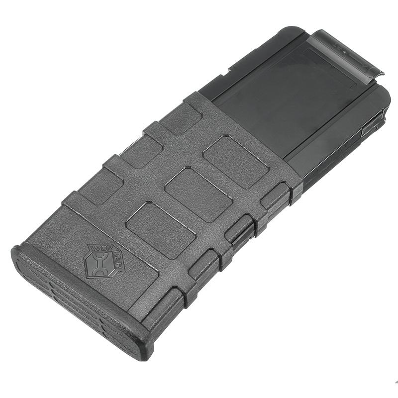 WORKER Mod 12Darts Plastic Clip Magazine For Nerf Modify Stryfe Elite Retaliator Blaster Toy Black