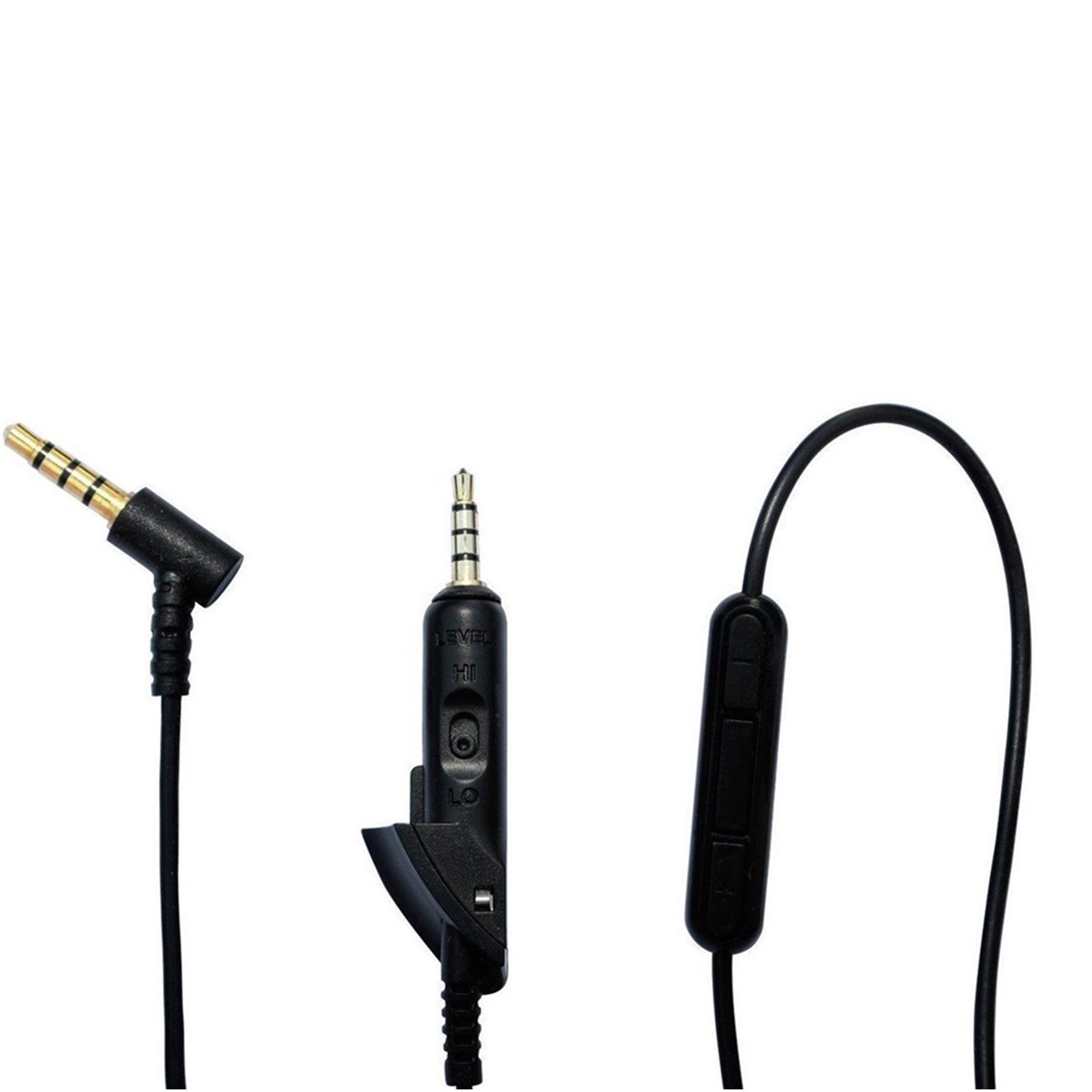 3.5mm Audio Cable Replacement 1.5m Cord Wire with Mic For Bose Quiet Comfort QC15 QC2 Headphone