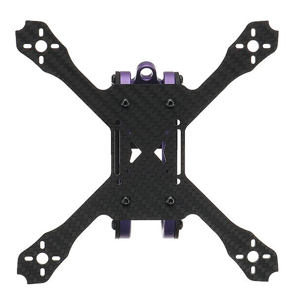 Realacc Purple150 150mm Wheelbase 2.5mm Arm Frame Kit 67g for RC Drone FPV Racing