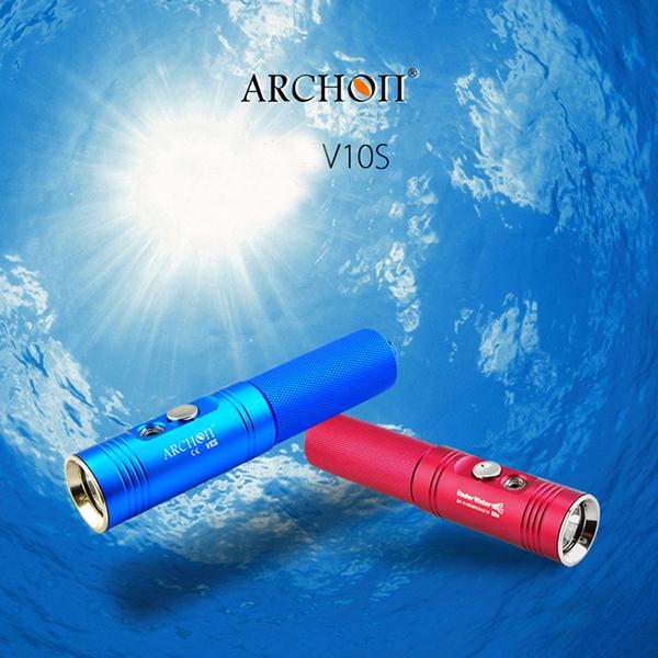 New ARCHON V10S U2 860LM Professional Diving LED Flashlight