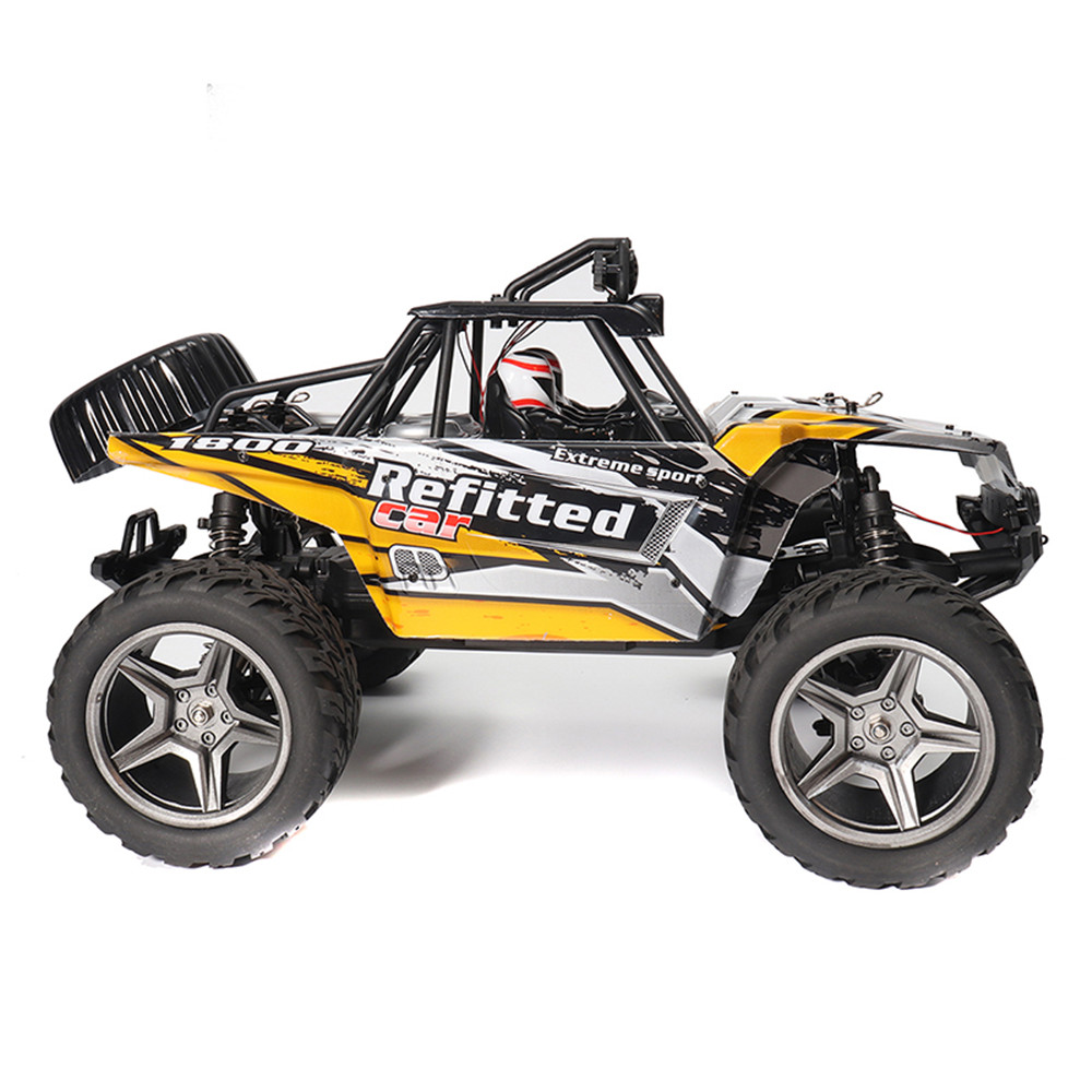 Wltoys A343 1/12 2.4G 2WD 35km/h Racing Rc Car Desert Off-road Truck Toys With Led Light