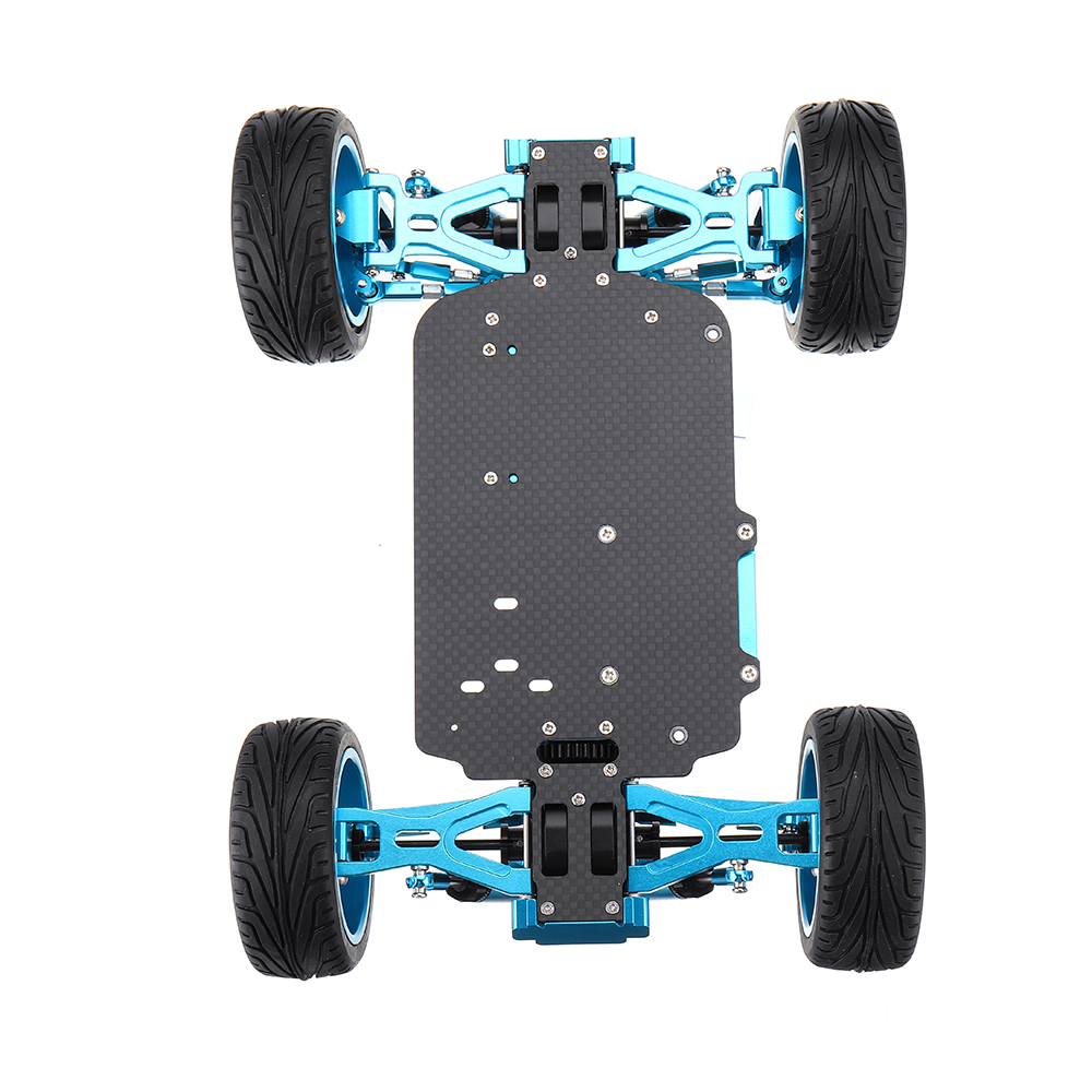 Wltoys 1/18 4WD A959 A969 A979 All Metal RC Car Chassis RC Vehicle Models Parts Red/Gold/Titanium - Photo: 7